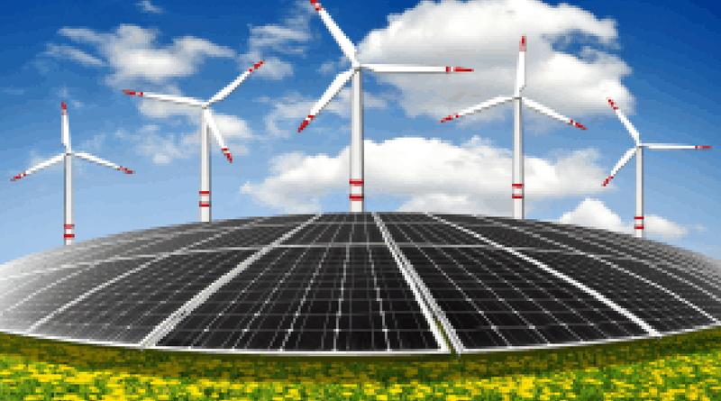 Wind and Solar Hybrid Farm