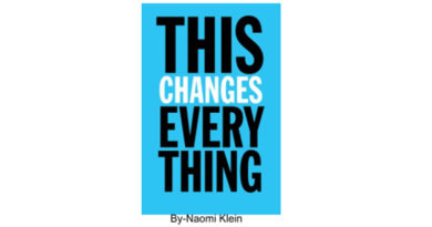 This Changes Everything book by Naomi Klein