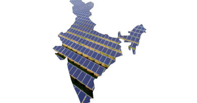 Solar panels in India shape