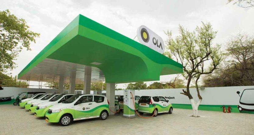 Charge station for ola EV's