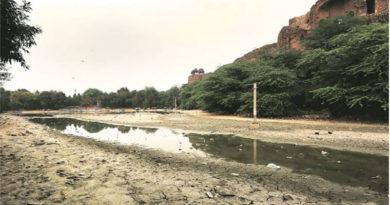 Purana Qila in New Delhi