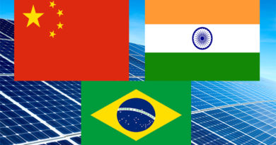 India, China and Brazil for Solar Power