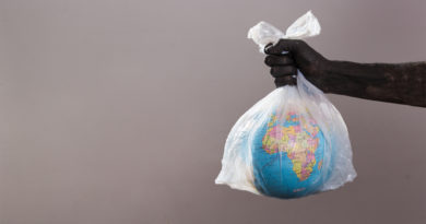 Earth in Plastic Bag
