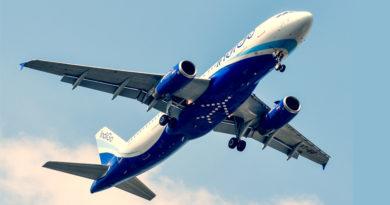 Indigo Airlines Plane