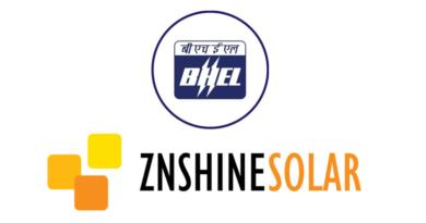 BHEL and ZNSHINE Solar