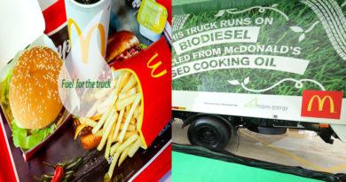 McDonalds Promotes Biodesiel Truck