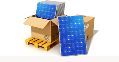 Solar Panels Delivery