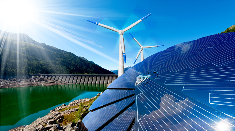 Solar, Wind and Hydro Power