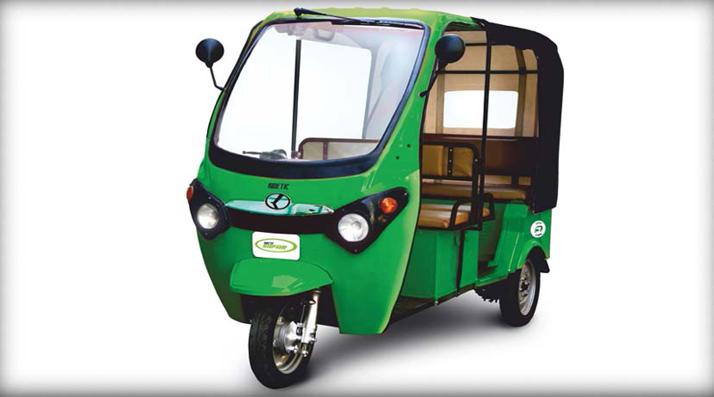Exicom and Kinetic Green in agreement for Lithium-Ion batteries for E-rickshaws