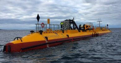 Floating Turbine in Scotland