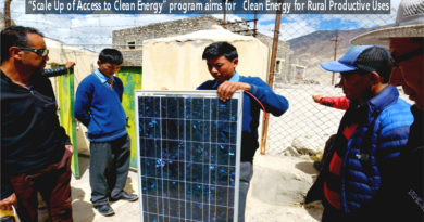 Scale Up of Access to Clean Energy