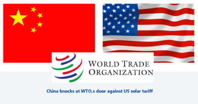 World Trade Organization China and US
