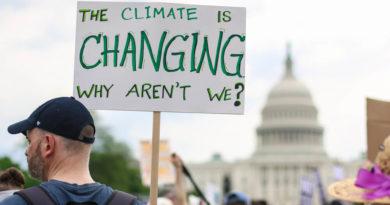 climate change protest washington