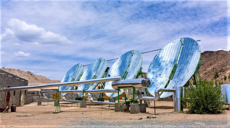 Solar Panels in Leh