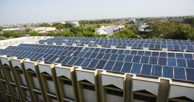 Solar Paneled Rooftop