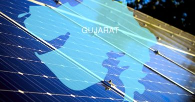 Gujarat using solar panels