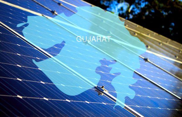 Gujarat using solar panels