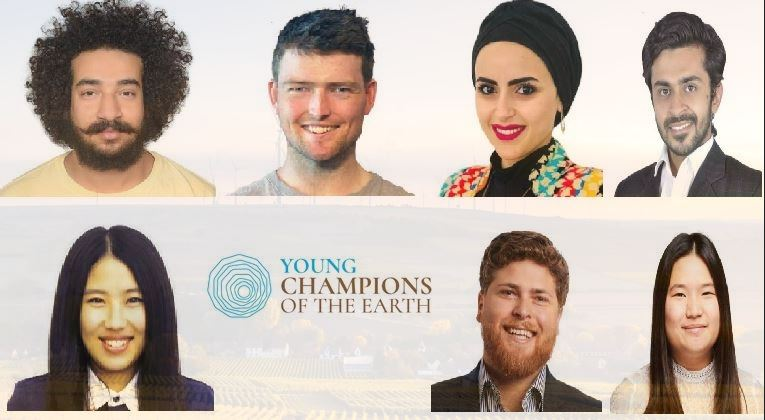 UN Young Champions of the Earth 2018