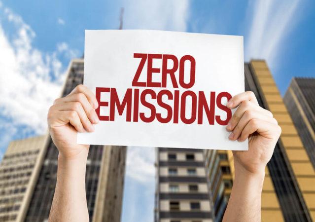 zero pollution sign
