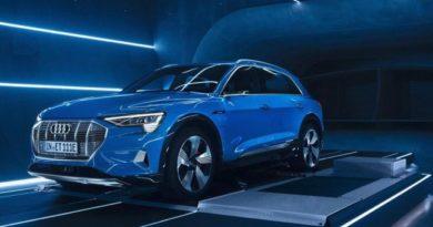 Audi's All Electric E-Tron