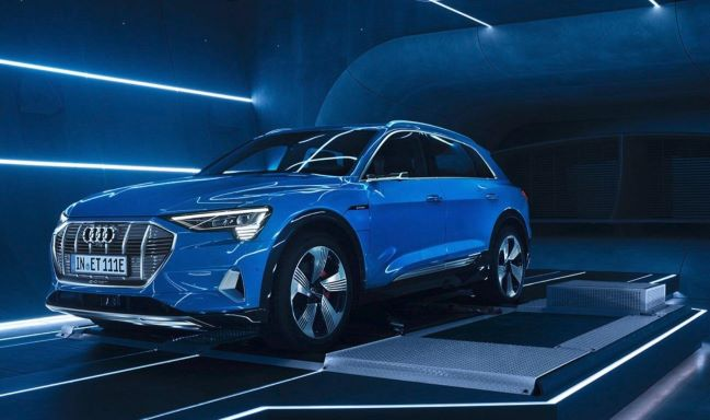 Audi's All Electric E-Tron