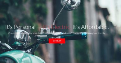 Electric Scooter Sharing service: Fae Bikes