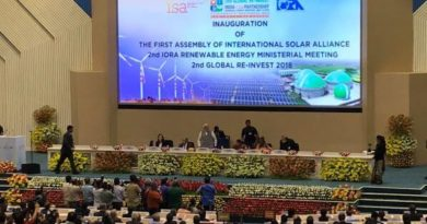 International Solar Alliance Meeting