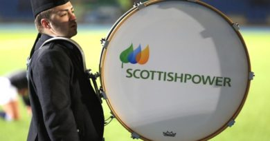 Drummer for Scottish Power