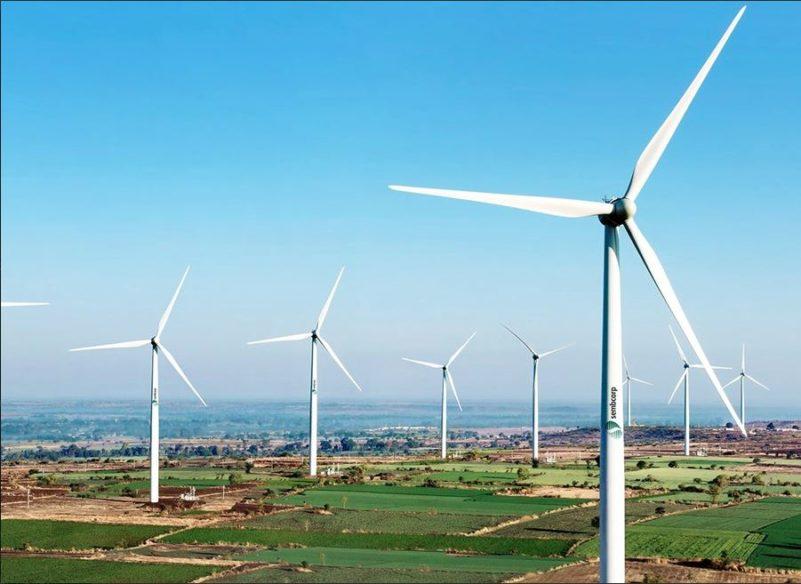 Wind Turbine farms