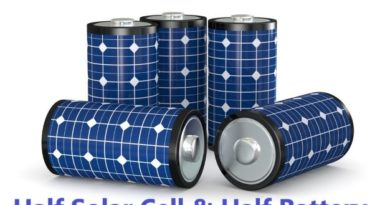 Half Solar Cell and Half Battery