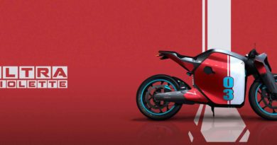 Ultraviolette bike concept
