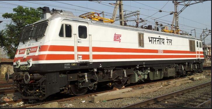 Electric Locomotive in Mumbai