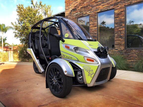 Acrimoto 2 seater vehicle