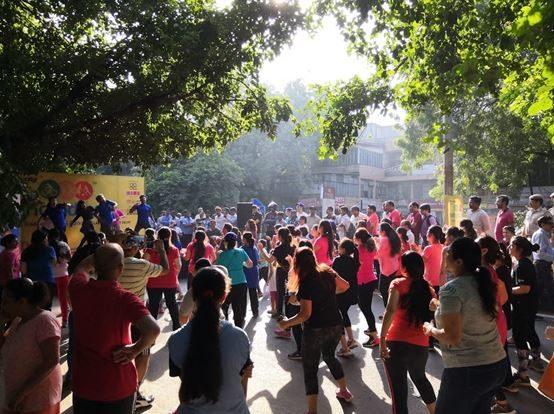Crowd at Raahgiri