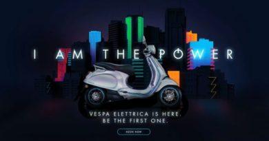 Electric Vespa
