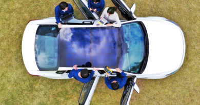 Hyundai Motor Group reveals solar charging technology