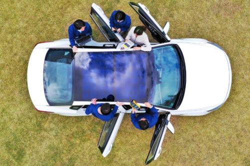 Hyundai Motor Group reveals solar charging technology