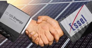 Softbank and Essel Join To develop a solar park