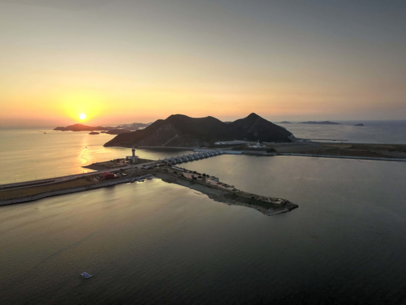 Saemangeum Seawall, South Korea