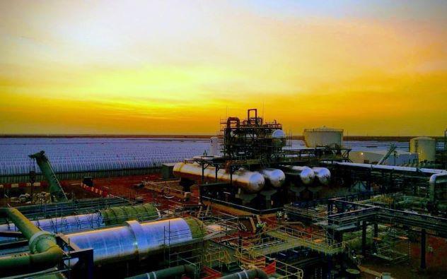 Solar CSP Plant in South African Desert