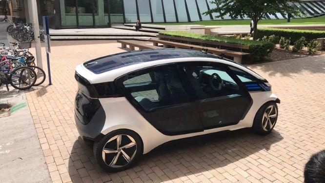 AEV solar Powered electric car