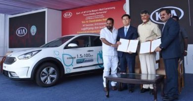 AP Government and KIA Motors For Electric three wheelers