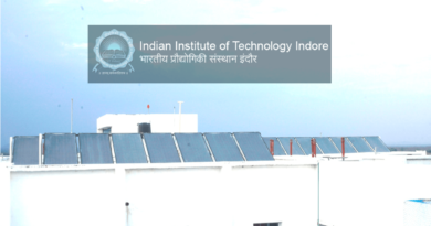 IIT Indore Solar Powered