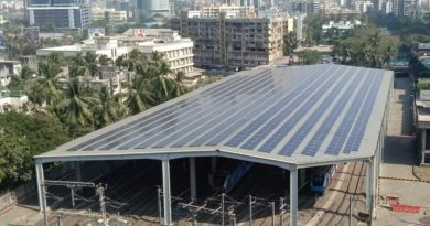 Solar Panels at Mumbai Metro Station