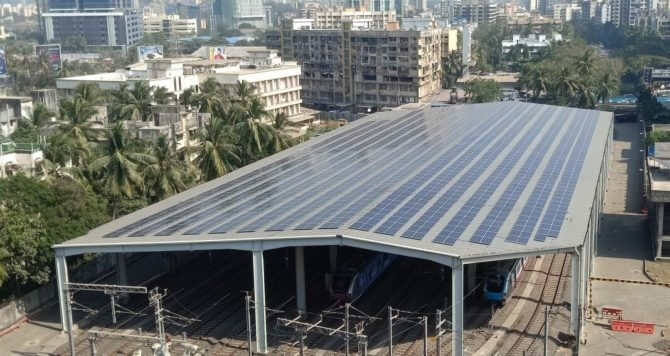 After Delhi And Chennai Mumbai Metro Commissions Rooftop