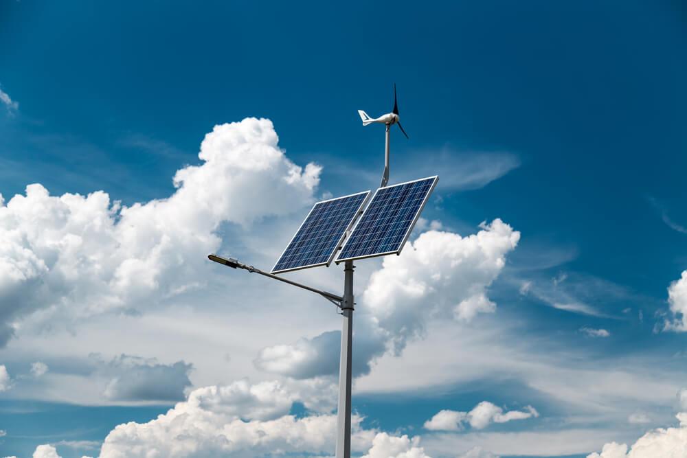Solar Panel Street Lamp
