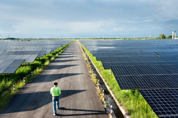 Another Solar Park in Rajasthan