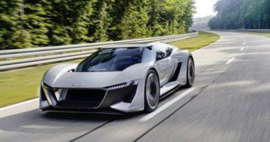 Audi E tron Grey