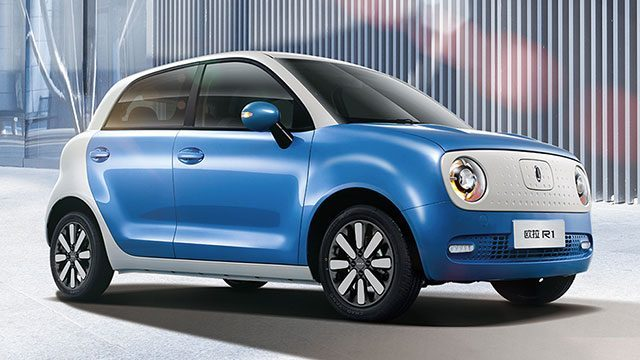 China S Great Wall Motors Unveils World Est Electric Car Ora R1