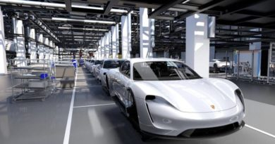 Porsche Taycan-production Line